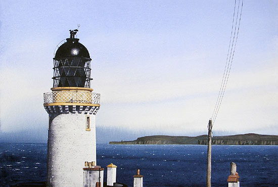 Dunnet Head - Acquarello